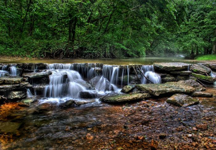 6.Tranquil Falls, Dogwood Canyon, Lampe