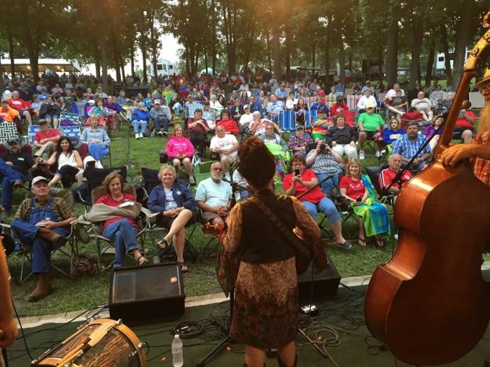 6.Sally Mountain Park Bluegrass Festival, Sally Mountain Park, Queen City