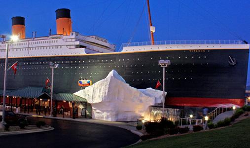 6.Titanic Museum Attraction, Branson