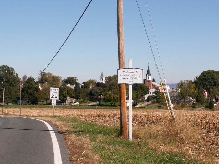 7) Spook Hill, Burkittsville