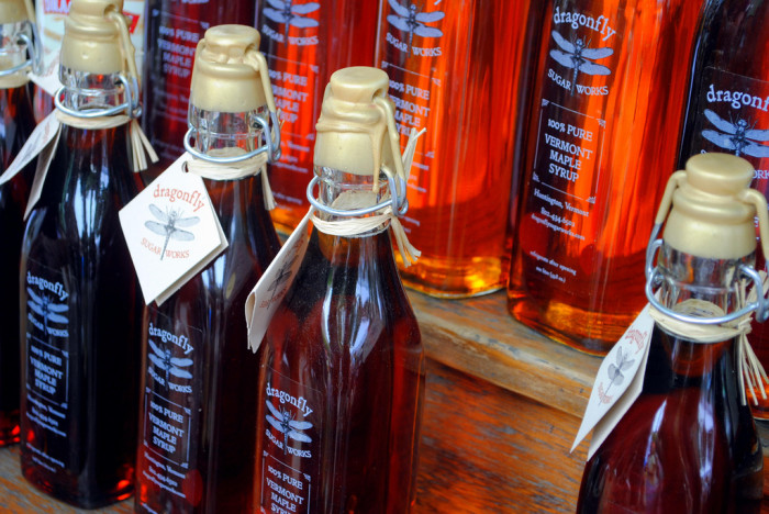 6.  Only eat authentic Maple Syrup.