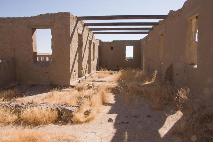 13. Fort Churchill ruins in Silver Springs, Nevada.