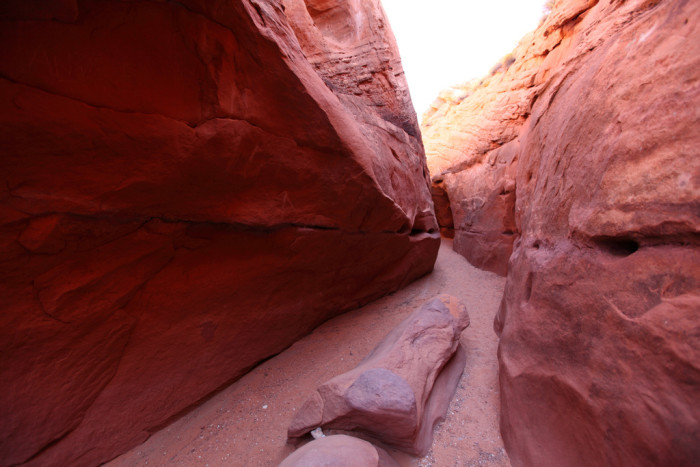 13. In a Slot Canyon