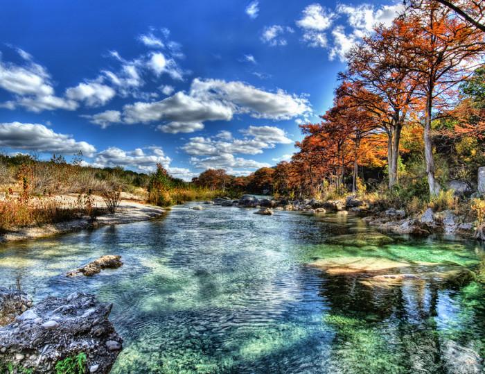 4. Frio River in Garner State Park