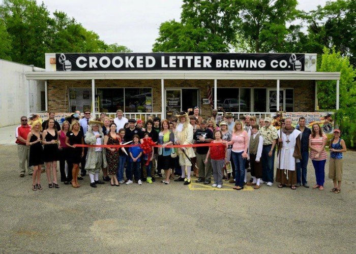 6. Take a tour, samples included, of Ocean Springs' Crooked Letter Brewing Company.