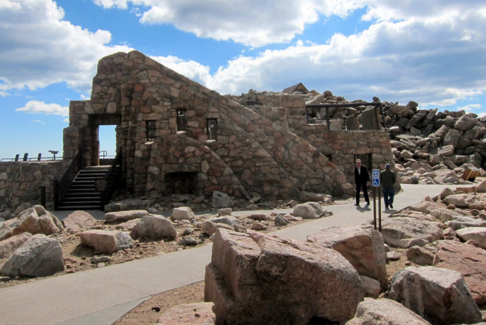 1. The Mount Evans Crest House