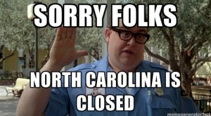 12 Thoughts Every North Carolinian Has During An Epic Snowstorm