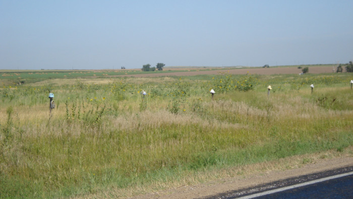 5. The Shoe Fence, Ogallala/Northport