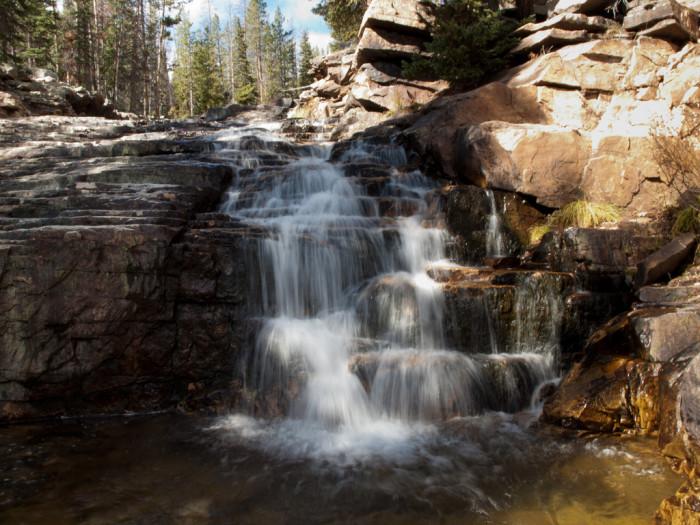9. Provo River Waterfalls