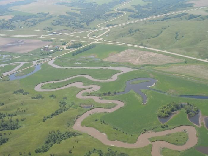6. Des Lacs River