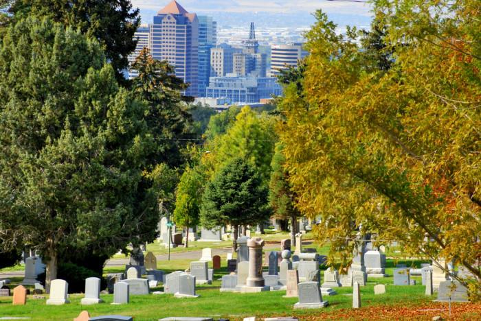 4. Salt Lake City Cemetery