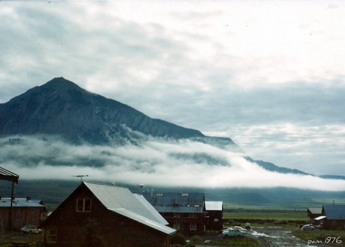 "12. ""Foggy Morning In Crested Butte."" (1976)"