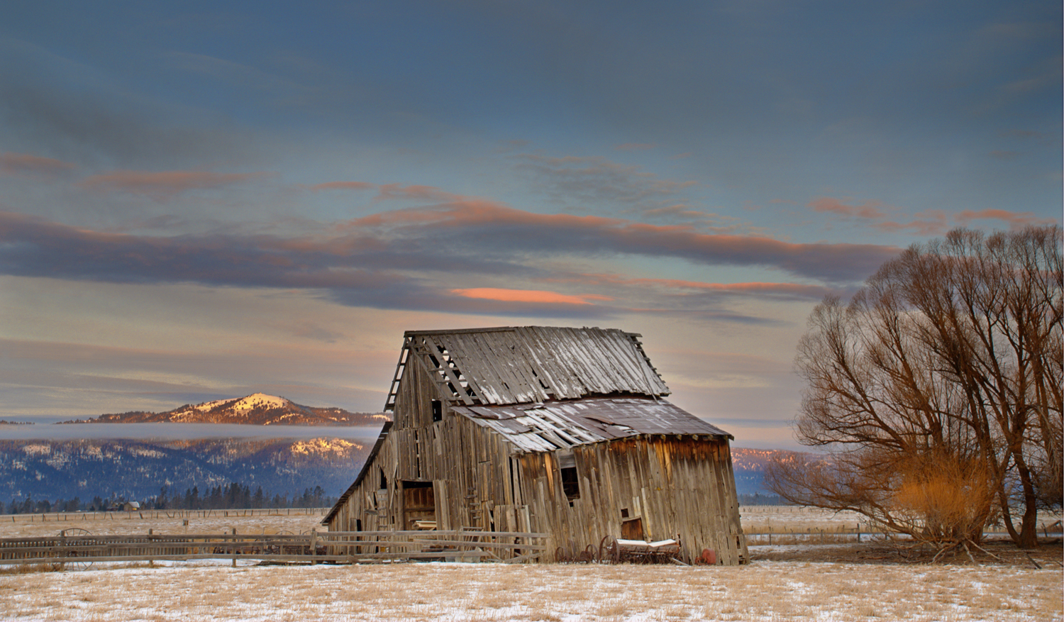 19 Beautiful Weathered Old Barns In Idaho