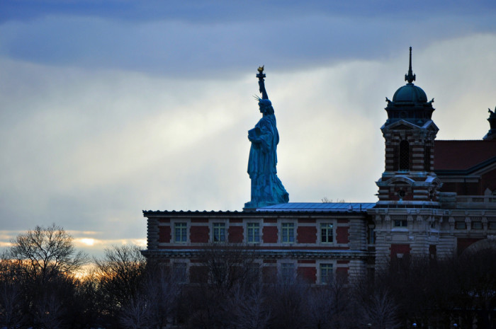 12. We haven't all been to Ellis Island/The Statue of Liberty.