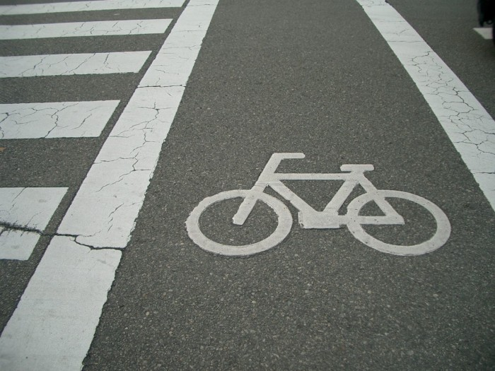7.  Sidewalks are safe, but bike paths are better.
