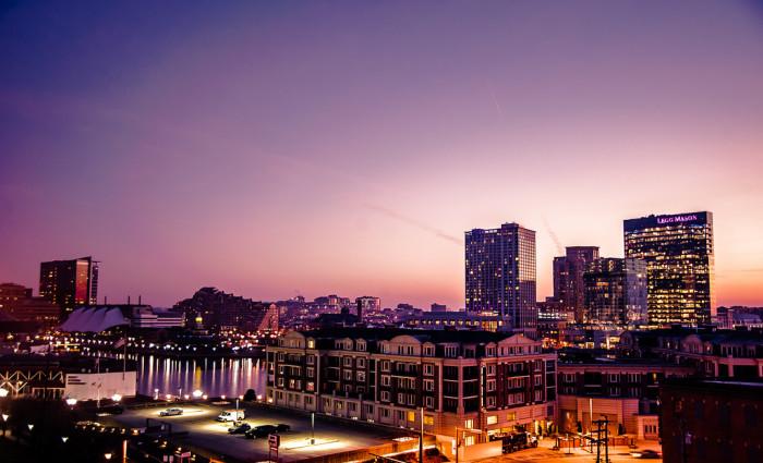 3) Good morning, Baltimore!