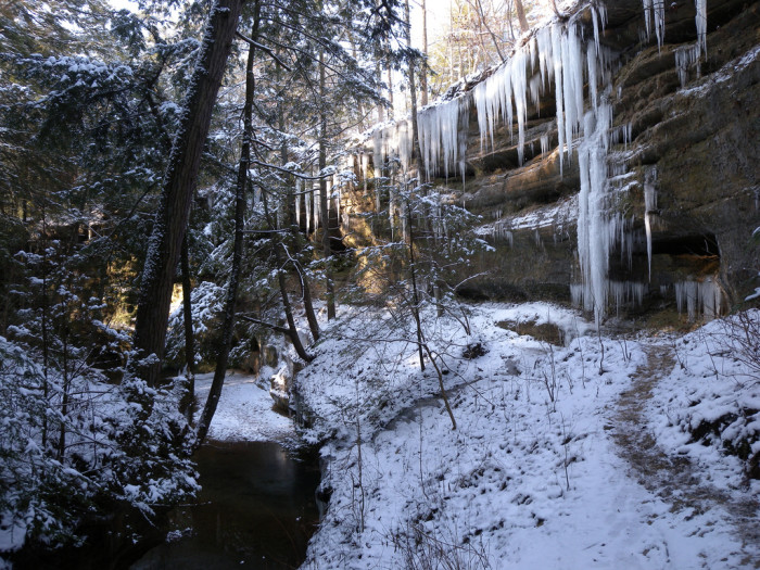 13. Old Man's Cave Gorge Trail at Hocking Hills State Park