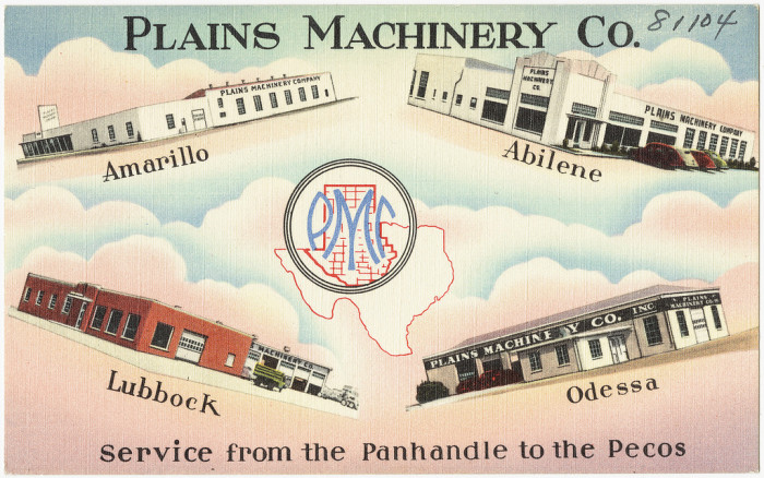 "13. ""Plains Machinery Co."""