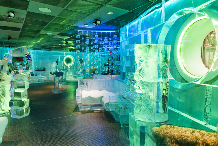 2. Grab a drink at FROST Ice Loft in Faneuil Hall. This is New England's only permanent indoor bar that is completely constructed of and furnished with ice. Maintained at a chilly 21 degrees, you can enjoy cocktails or a non-alcoholic beverage while feeling like you wandered into Frozen. Admission is $10 per adult and $6 for children. And ask about their student discount!
