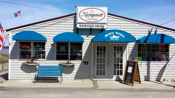 9. Waco Diner, Eastport: 47 Water Street, 207-853-9226