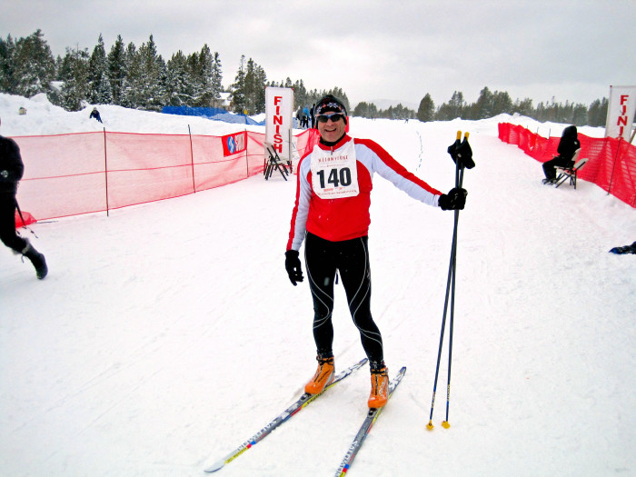 3. Nordic or Cross Country Skiing