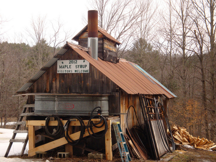 1.  World famous Maple Syrup and sugar houses.