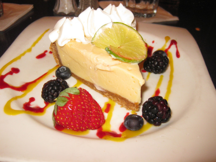 12. You're going to miss being able to get a perfect slice of Key lime pie whenever you want one.