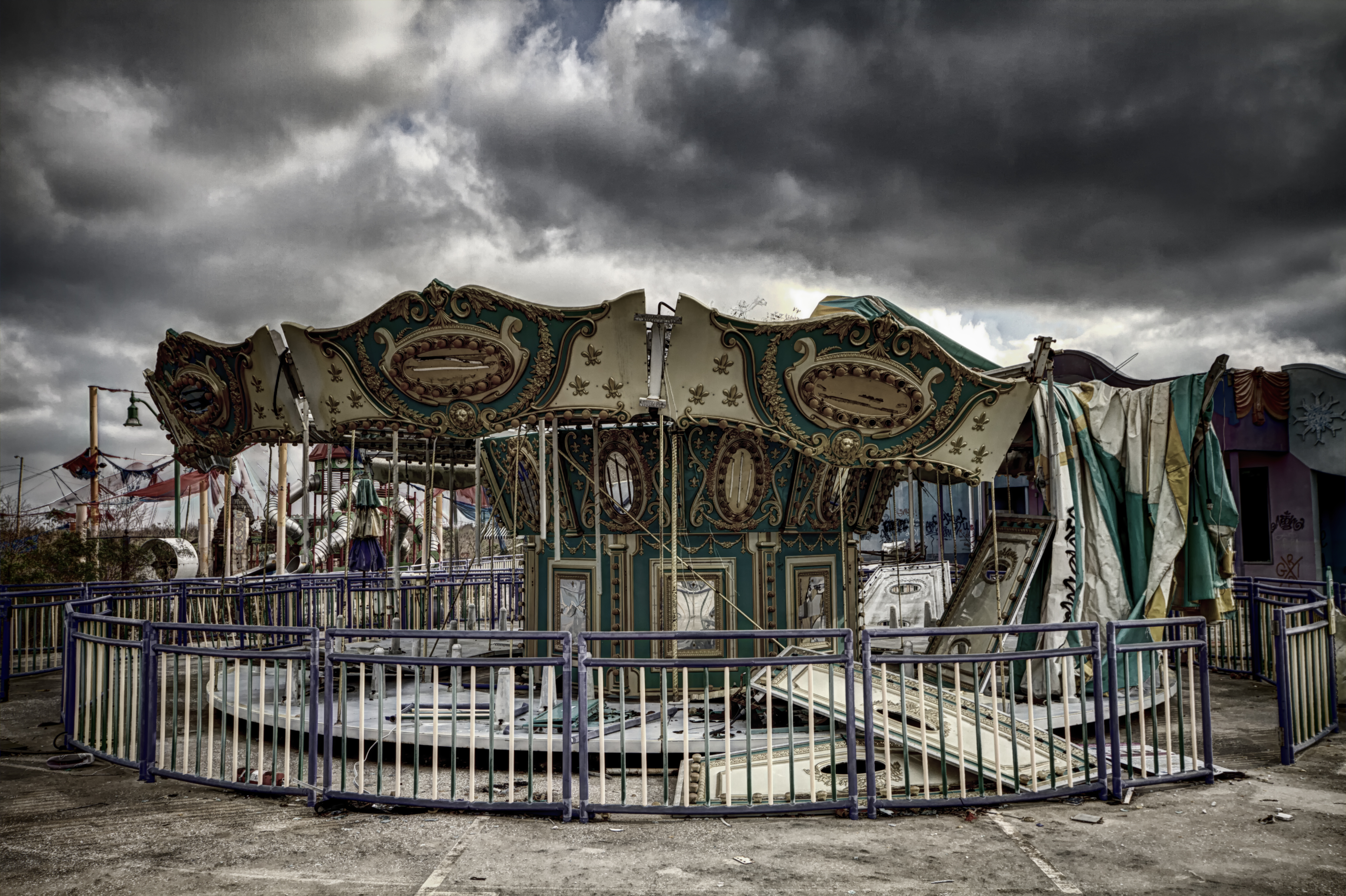 This Abandoned Amusement Park In Louisiana Will Definitely