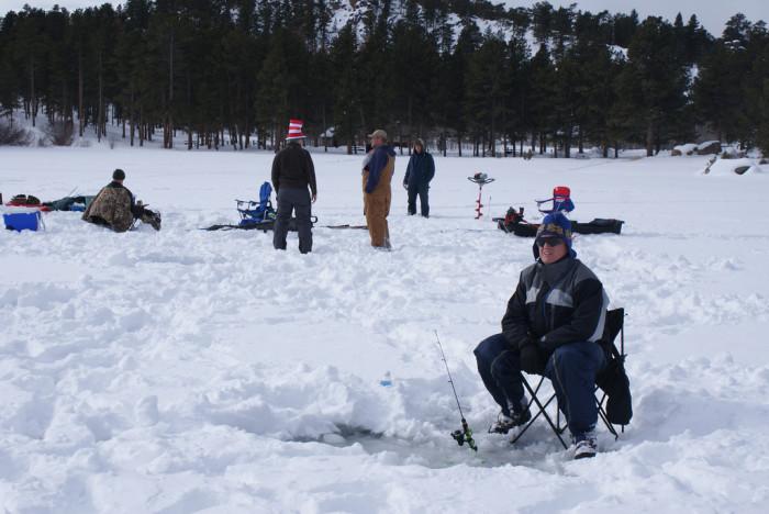 7. Ice Fishing