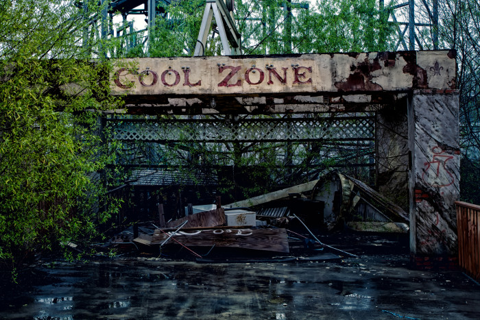 This used to be the 'Cool Zone'…what would you call it now?