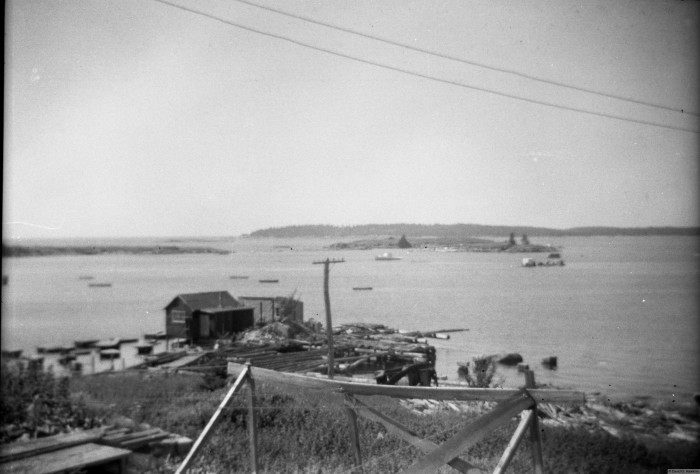10. The location of the current boat wharf in Vinalhaven.
