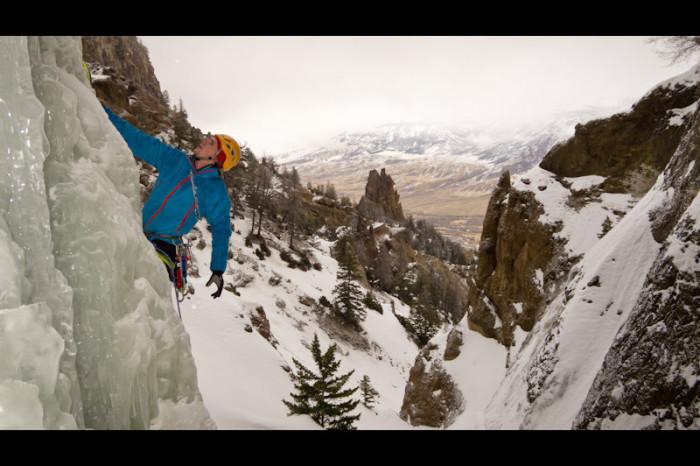 8. Ice Climbing