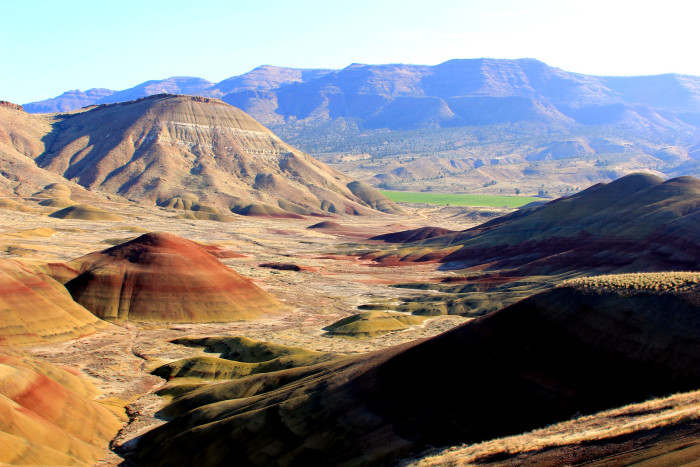 4. Or the Painted Hills...