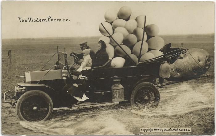 """14. """"Kansas City KS 1910 MODERN Farmer - They do things BIG around here."""""""