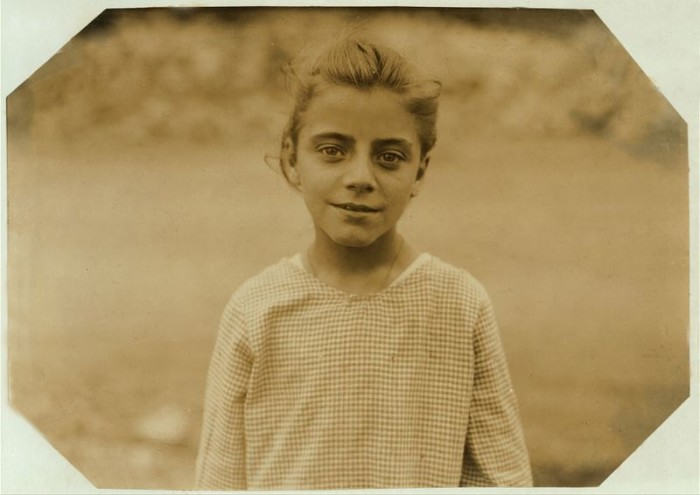 15. A beautiful shot of a 14-year-old weaver in Fall River.