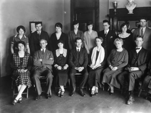7) Here's Central High School administration in 1940