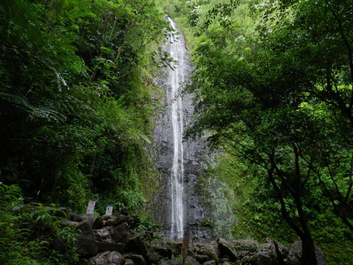7) Hike to a waterfall.