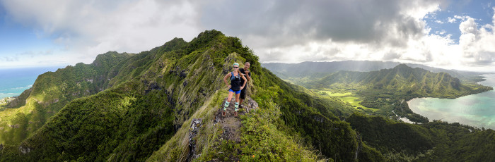 7) Some of the world's best hiking can be found throughout the Hawaiian Islands.