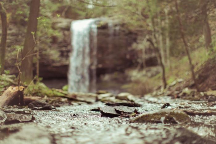 4. The falls: