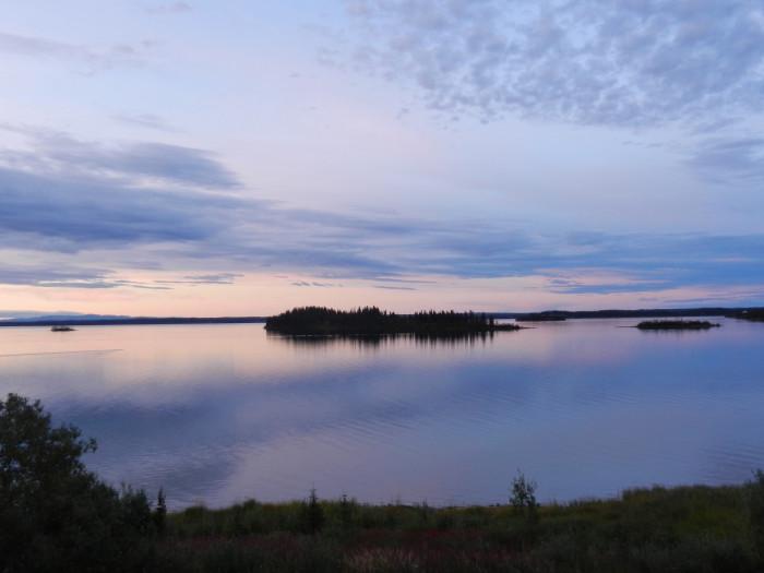 8) Lake Louise | Upper Copper-Susitna Region
