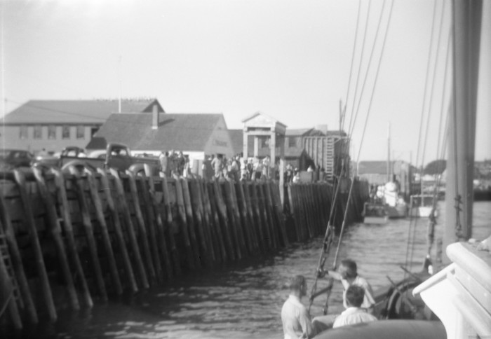 1. Sailing into dock in Vinalhaven.