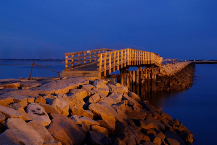 7. Plymouth Harbor Bridge