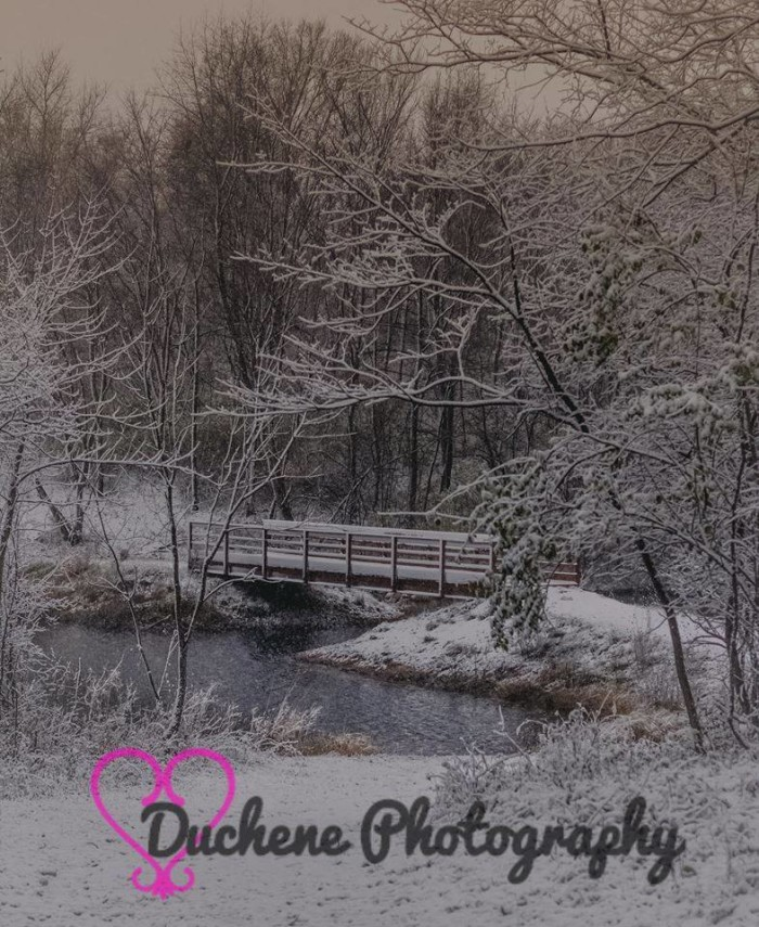 2. Duchene Photography took this wintery photo at Fort Des Moines Park.