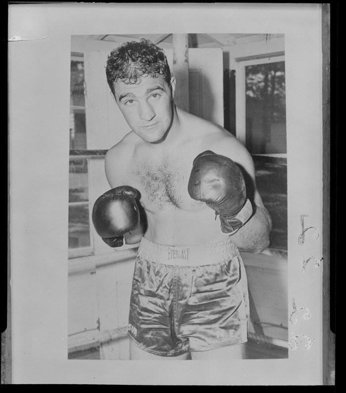 7. Rocky Marciano died in Iowa.