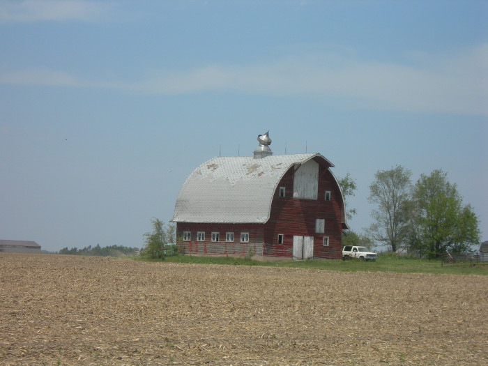 9. Old, abandoned barns are always beautiful to look at.