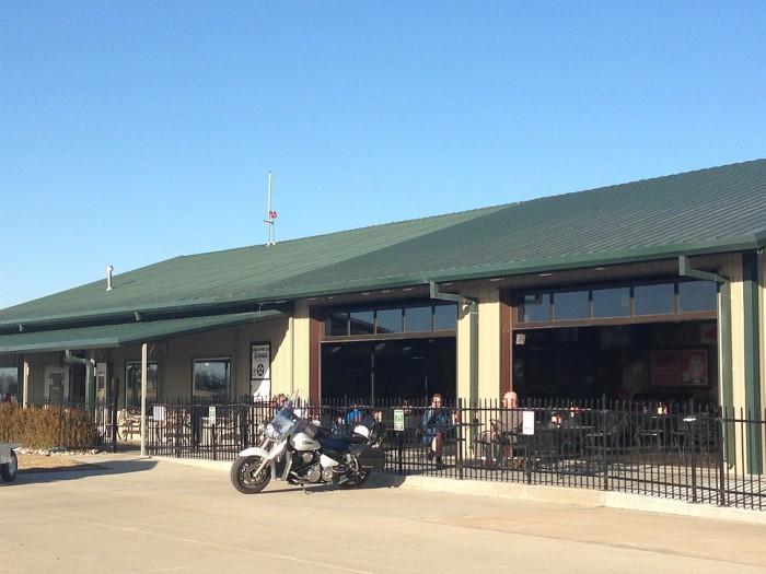 11. Stearman Field Bar & Grill (Benton)