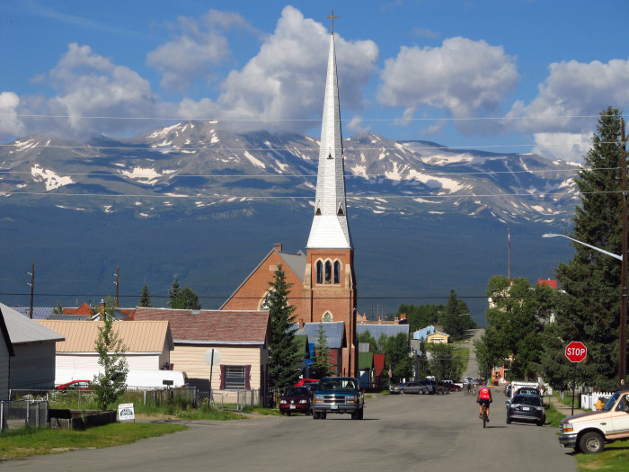 13. At 10,430 feet, Leadville is considered to be  North America's highest incorporated city.