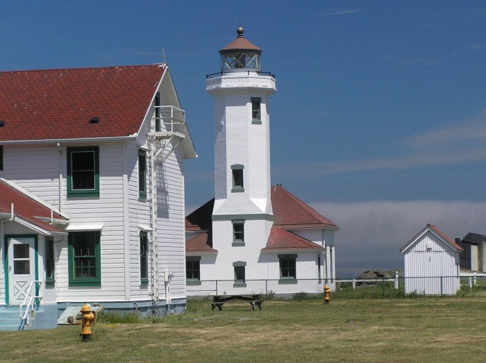 4. The historic Fort Worden State Park is located here.