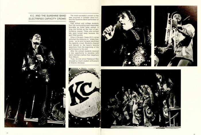 8. K.C and the Sunshine Band.