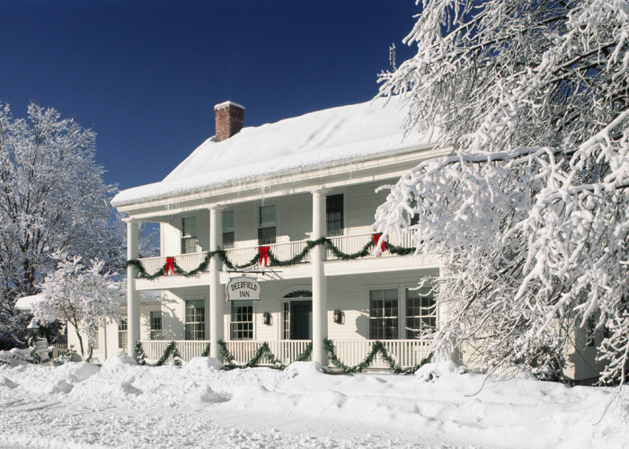 10. The town of Deerfield is gorgeous any time of year, but it really sparkles in the snow. Take a day trip to one of Massachusetts most historic small towns and use the town's historical resources to learn about winters long past!